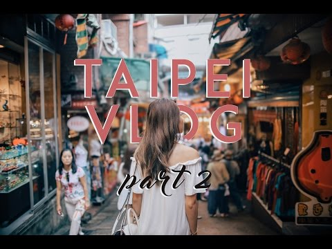 Taiwan VLOG Part 2: Shilin Night Market, Jiufen | MONGABONG