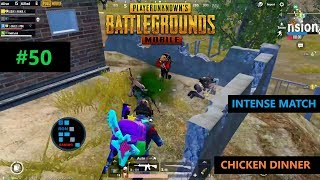 PUBG MOBILE17 KILLSINTENSE MATCH CHICKEN DINNER