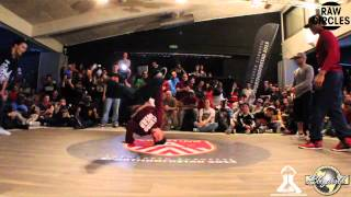 YORIYAS & LIL ZOO vs KAREEM & TATA (RAW CIRCLES 2013)