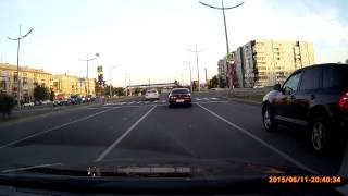 В Абакане на запретной езде попались два водителя (1)