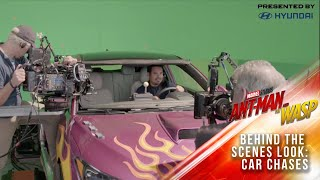 How Marvel Studios' Ant-Man and The Wasp Shot an Amazing Shrinking Car Chase!