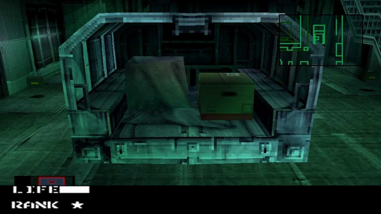 Image result for solid snake in a box