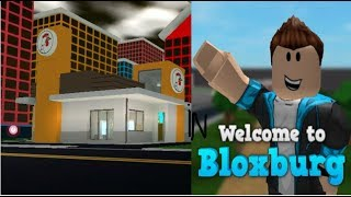 Roblox Bloxburg:Touring Cluckdonalds From Mad City And Reviewing It