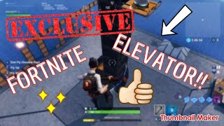HOW TO MAKE AN ELEVATOR IN FORTNITE CREATIVE