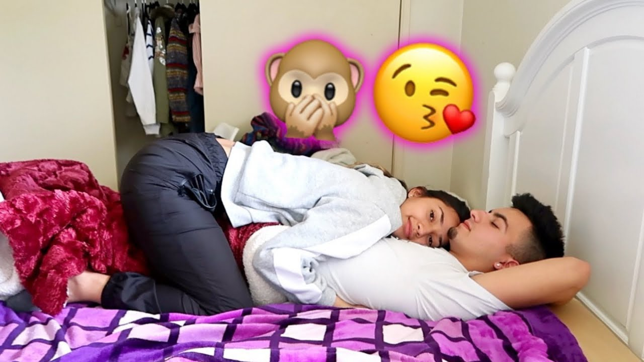 SLEEPING TOGETHER FOR THE FIRST TIME!! - YouTube