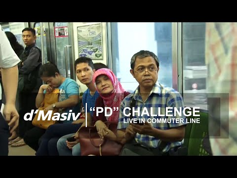 d'Masiv - PD Challenge (Live in Commuter Line)