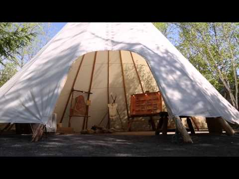 Site Traditionnel Huron-Village Huron Québec Canada