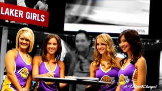 Sexy Hot Girls Modeling at Auto Show! Model, Show Girls, Laker Girls and Monster Drink Models!