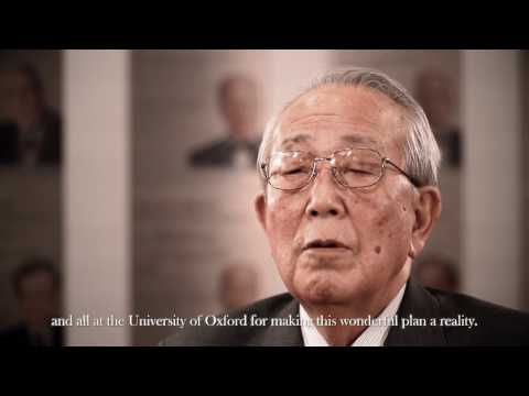 Dr Kazuo Inamori on the Kyoto Prize at Oxford