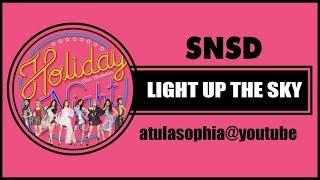 [Phiên âm Tiếng Việt] Light Up The Sky – SNSD