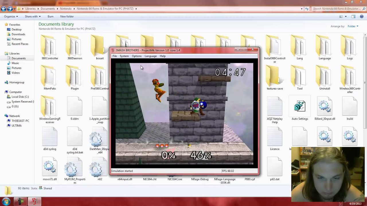 n64 emulator project64k how to - YouTube