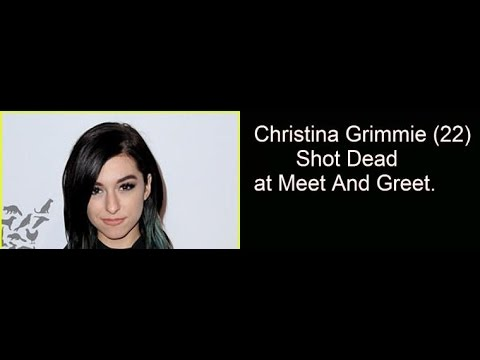 Christina grimmie 22 shot dead at meet and greet youtube christina grimmie 22 shot dead at meet and greet m4hsunfo