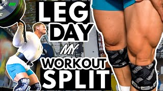 LEG DAY | MY CURRENT WORKOUT SPLIT