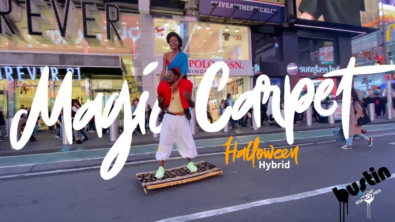 Hybrid Magic Carpet - Halloween NYC 2019