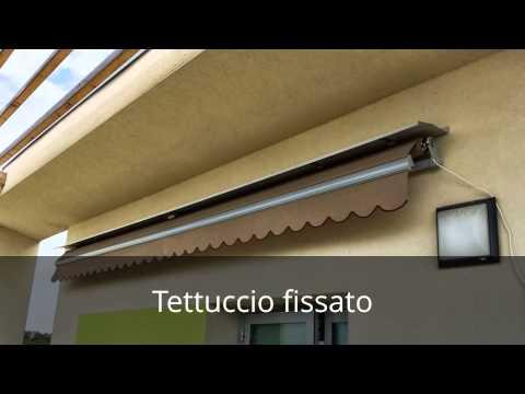Installazione tenda da sole a bracci su parete con cappotto Sp.14cm from YouTube · Duration:  3 minutes 4 seconds