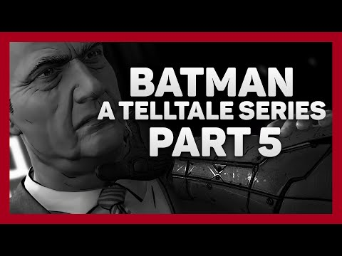 Batman: Telltale Series | Part 5 | Shadows Edition | The Mayoral Debate