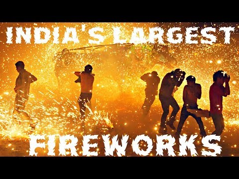 India's Largest Fireworks - 500 Shots? Diwali - The Festival of Lights!