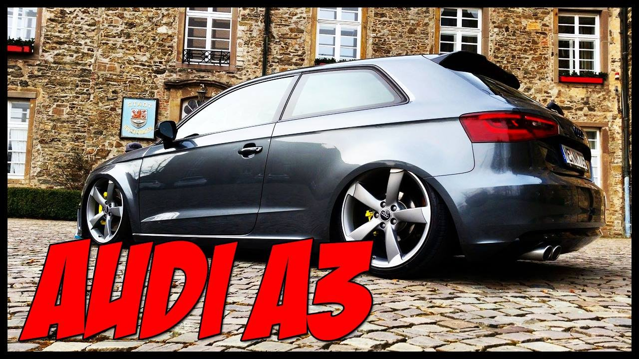 audi a3 8v s line 2016 rotor on air motief youtube. Black Bedroom Furniture Sets. Home Design Ideas