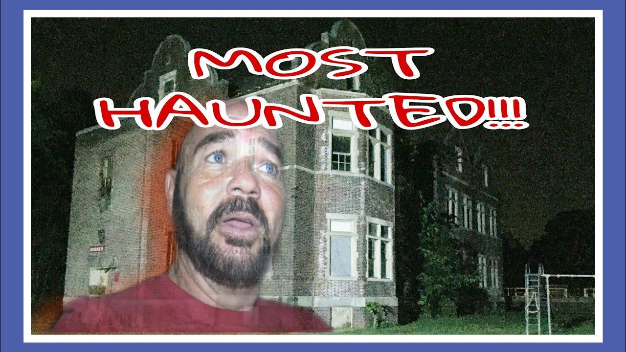 OVERNIGHT IN AMERICA'S MOST HAUNTED ASYLUM!!! (Pennhurst Part 1)