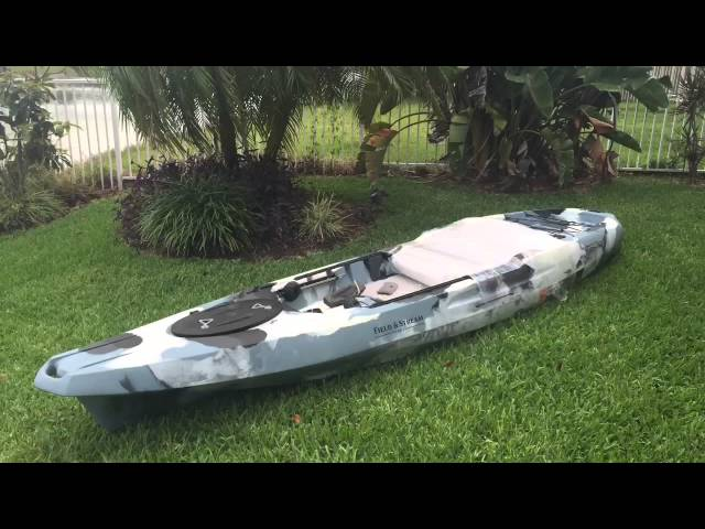 My new Field & Stream Shadowcaster Kayak 12' 3