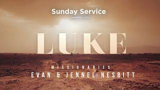 Sunday Service - November 1, 2020