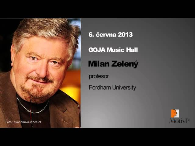 Milan Zelený - 6.červa 2013 Konference Motiv P