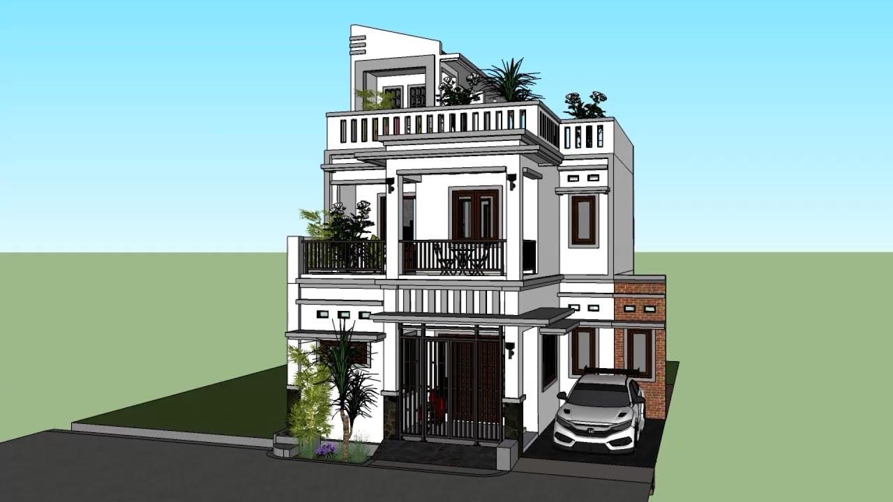 Gambar Model Rumah Atap Dak Cor Interior Rumah