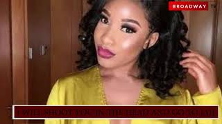 Why Tonto Dike Threatened to Shoot Blackmailer in the Head