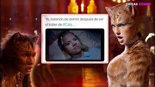 EL ESTRENO DE TRAILER DE CATS RECIBE MALAS CRITICAS Y NI TAYLOR SWIFT PUDO SALVARLO