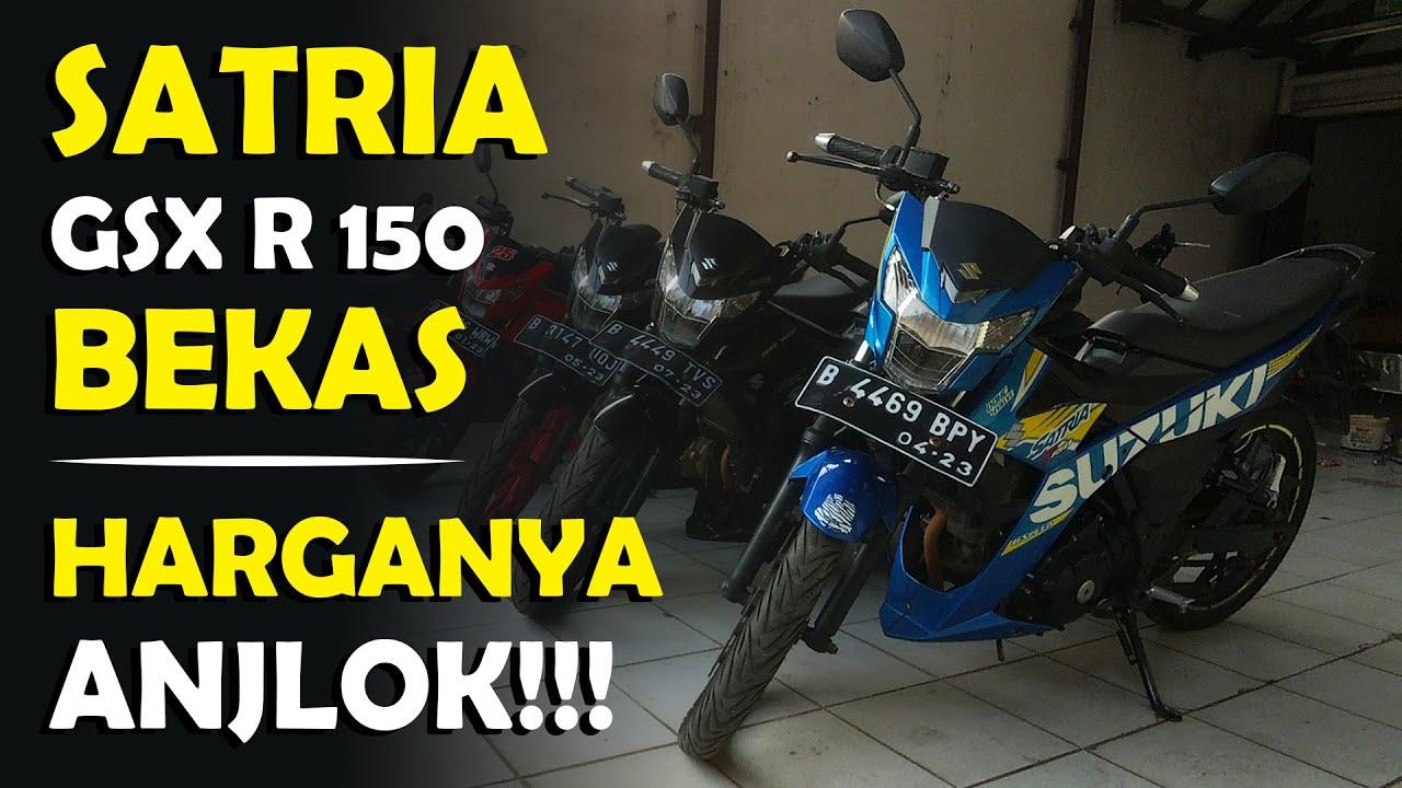 Suzuki Satria Dan GSX R Bekas