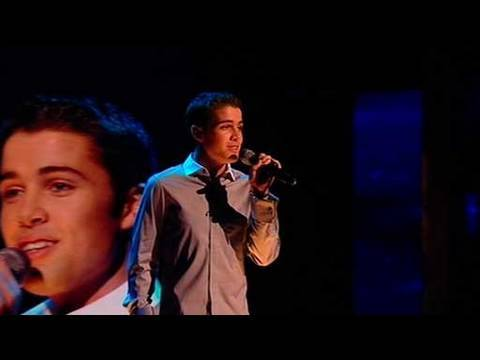 The X Factor 2009 - Joe McElderry: Open Arms - Live Show 9 (itv.com/xfactor)