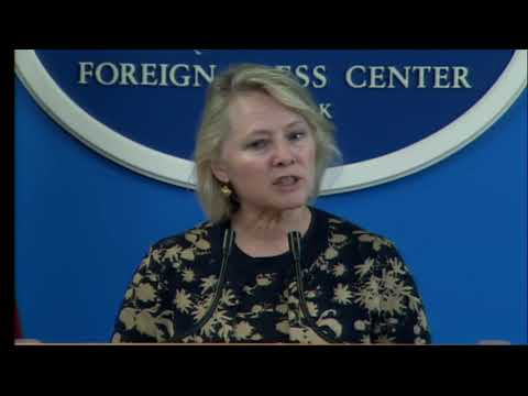 New York Foreign Press Center Briefing US Foreign Policy Update and the Asia Pacific