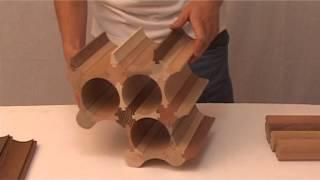 Modular Wine Rack - Stalak Za Vino