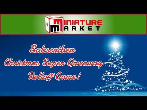 The Christmas Subscriber Only Super Giveaway Rolloff Game! - Live