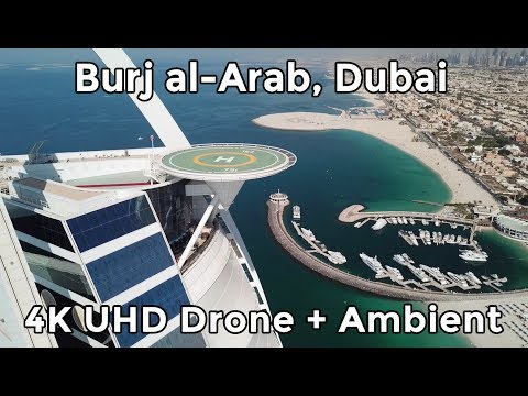 DUBAI – BURJ AL-'ARAB by DRONE – 4K