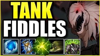 This TANK Fiddlesticks Support build is so annoying... I actually made them ragequit 😂 !