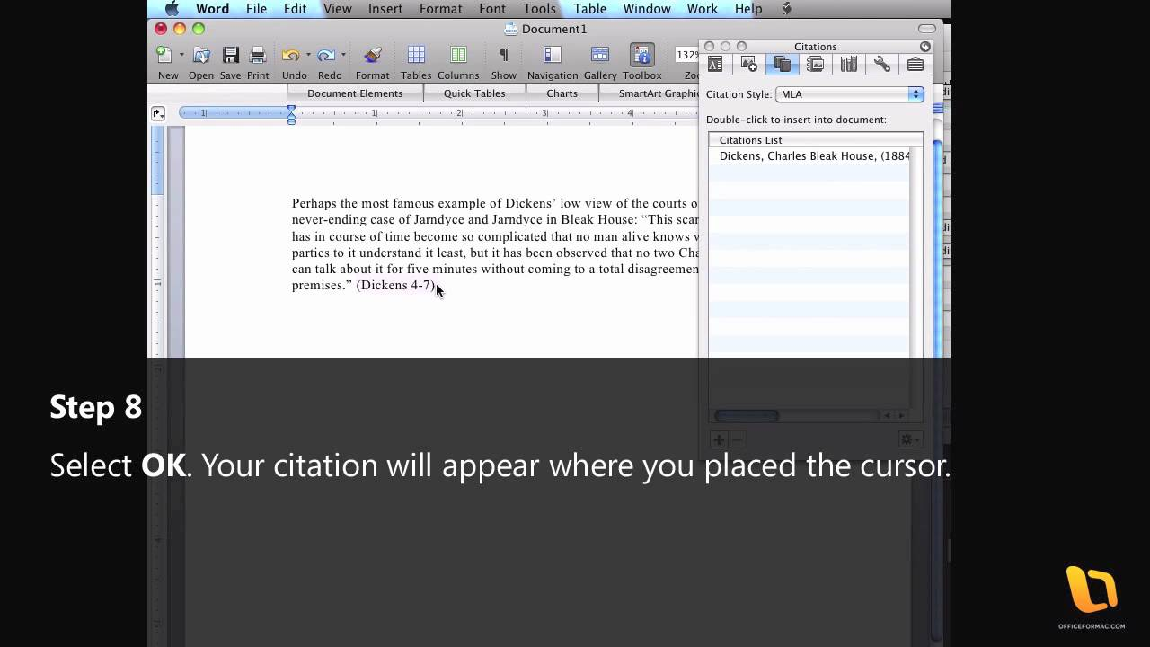 how to delete citation in word mac