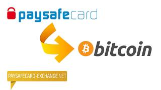 Exchange Paysafecard to Bitcoin paysafecard-exchange.net