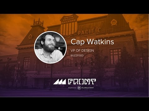 Design everything by Cap Watkins at Front 2016 in Salt Lake City, Utah