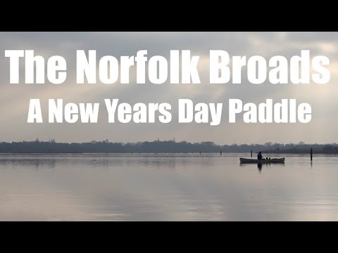 Canoeing On The Norfolk Broads. Barton Broad And The River Ant. Bacon And Sausage Over Charcoal.