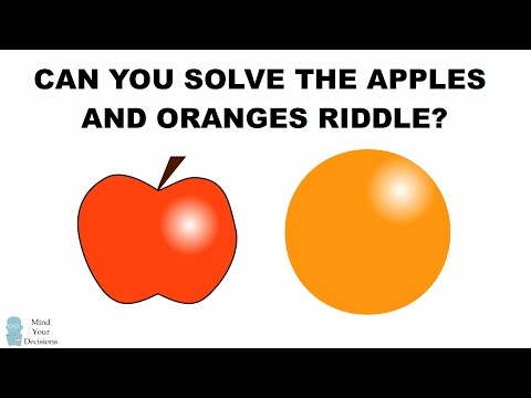 Can You Solve The Apples And Oranges Riddle? The Mislabeled Boxes Interview Question