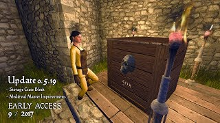 Medieval Engineers - Update 0.5.19 - A Crate Update thumbnail