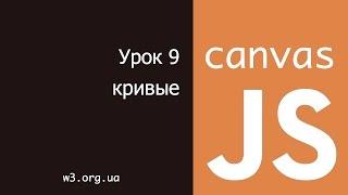 JavaScript Canvas 9. Кривые