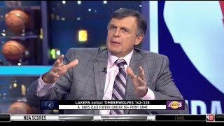 Kevin Mchale EXCITED LeBron lead Lakers def Timberwolves 142-125 for 12th straight road win