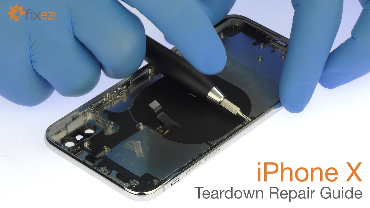 Iphone X Teardown Repair Guide Fixezcom Youtube Philips Part A17f6mpw001 Circuit Board Assembly Oem Mpw