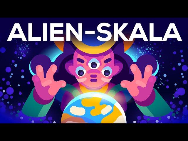 Wie sehen Aliens WIRKLICH aus? 👽  - Die Kardaschow-Skala