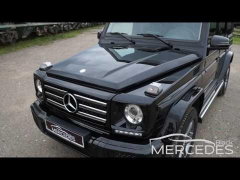 Прокат с водителем Mercedes Benz Gelandewagen