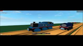 Thomas gets Bumped-Roblox WR remake