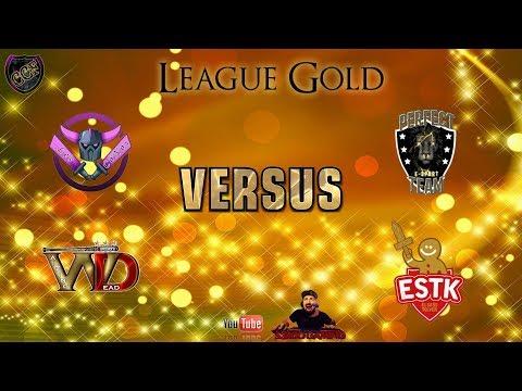 CCF League Gold Les Conos vs Perfect Team - Walking Dead vs Elsass tolvek + tirage des barrages