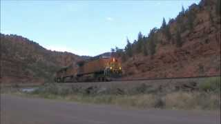 BNSF QDVPVJ Manifest on the Dotsero Cutoff